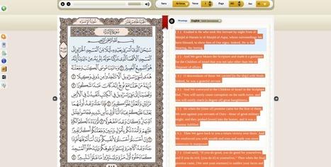 Al Quran – KSU Electronic Moshaf project | Engineer Betatester | Scoop.it
