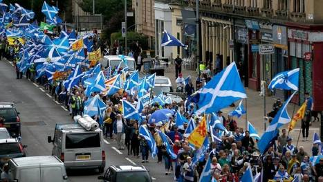 Pro-independence supporters set to march through Glasgow again | My Scotland | Scoop.it