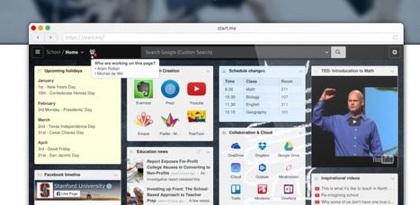 Tecducación | Organiza y comparte con tus alumnos todas las ligas y recursos en línea de tu clase con Start.me | Educación (métodos y herramientas) | Scoop.it
