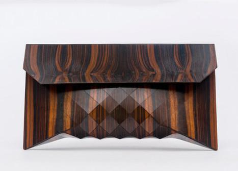 Wooden Bags by Tesler + Mendelovitch - Design Milk | corinne chatelain | Scoop.it
