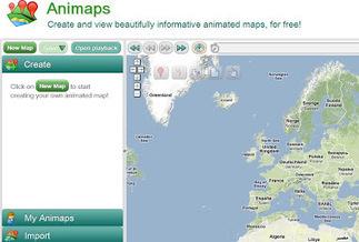 ANIMAPS. Crea mapas geográficos animados | Ferramentes digitals | Scoop.it