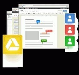 Google Drive. Un bon outil collaboratif | Outils et  innovations pour mieux trouver, gérer et diffuser l'information | Scoop.it