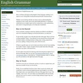 English Grammar Blog - Stay posted when grammar rules change! | yellow | Scoop.it