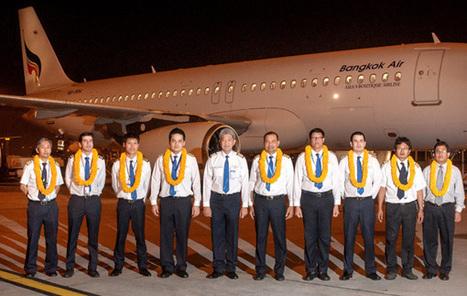Bangkok Airways loue un sixième Airbus A320 | Thailande Info | Scoop.it