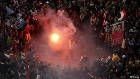Muertos y cientos de heridos en protestas en Egipto | El Mundo | DW.DE | 25.01.2013 | Acorazado Topemkin | Scoop.it