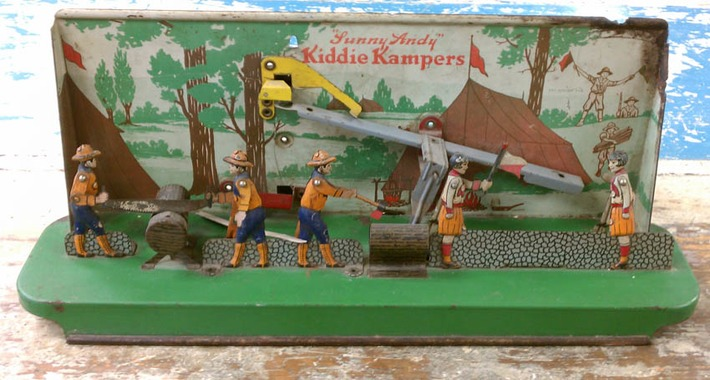 Wolverine's Kiddie Kampers & Other Tin Toys | Antiques & Vintage Collectibles | Scoop.it