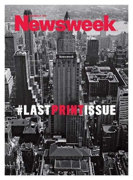 Newsweek va redevenir un magazine papier | Les médias face à leur destin | Scoop.it
