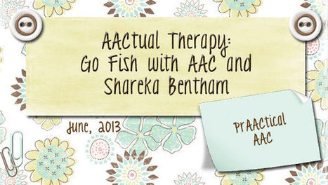 AACtual Therapy - PrAACtical AAC   Supports for language learning   Aided Language Input   Scoop.it