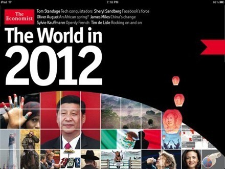 Best Free iPad App of the Week: The Economist's The World in 2012 Editor's Highlights — iPad Insight | iLibrarian: Teaching the iGeneration with an iAttitude. | Scoop.it