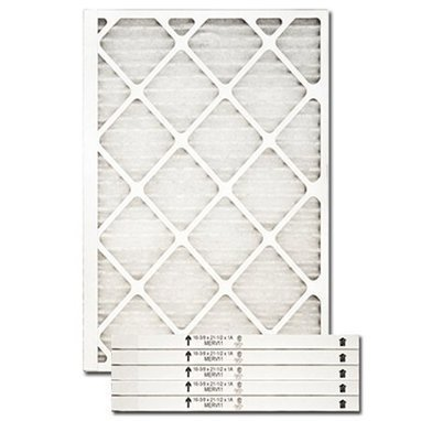 Nordic Pure 8x24x1 Exact MERV 8 Pleated AC Furnace Air Filters 2 Pack