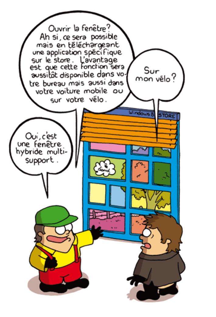 Windows 8 : un système d'exploitation hybride   Baie d'humour   Scoop.it