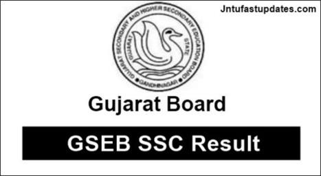 GSEB SSC Result 2018 - Gujarat Board 10th Resul