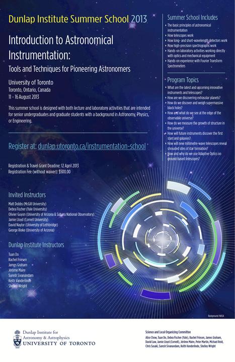 Instrumentation School | Dunlap Institute | Amateur and Citizen Science | Scoop.it