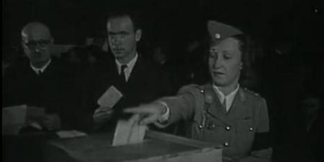 Il y a 70 ans, les femmes obtenaient le droit de voter | Ressources FLE | Scoop.it