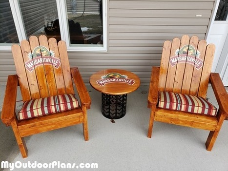 Astounding Diy Adirondack Chair Made From 2X4S Myoutdoor Pdpeps Interior Chair Design Pdpepsorg