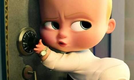 35 Hình Ảnh Nhóc Trùm ( The Boss Baby ) Hài Hước, Dễ Thương Nhất