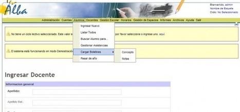 Proyecto Alba – Sistema Informático Abierto de Gestión Unificada para Unidades Educacionales   eduvirtual   Scoop.it