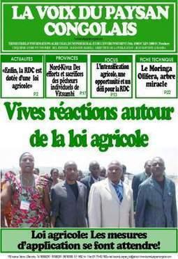 La Voix du paysan congolais ... est sorti de presse | Questions de développement ... | Scoop.it