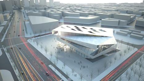 architects collective: dalian planning museum | Rendons visibles l'architecture et les architectes | Scoop.it
