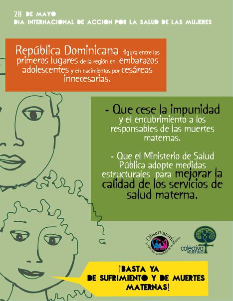 Llamado a la Acción de la Colectiva Mujer y Salud. 28 de mayo 2013 | Feminismos al aire | Scoop.it