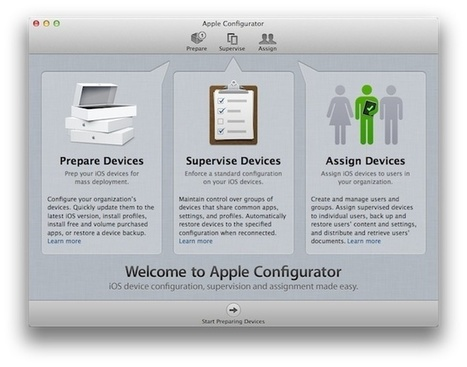 Use Configurator To Roll-Out iOS Devices To Your Users – The Right Way [How-To] | Cult of Mac | I Pads in the Classroom | Scoop.it