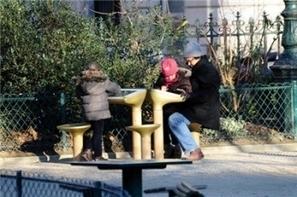 JCDecaux installe une table de jeu digitale dans un jardin parisien | Médias sociaux et tourisme | Scoop.it