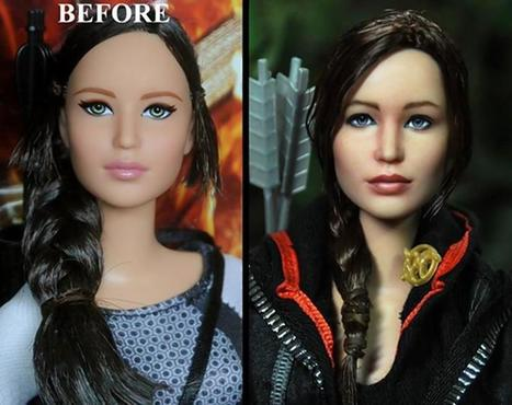 Customized Katniss doll looks like Jennifer Lawrence - New York Daily News | Fashion Dolls | Scoop.it