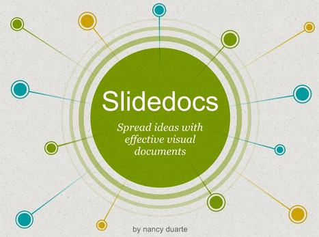 Slidedocs - spread ideas with effective visual documents | What's New in Education? | Scoop.it