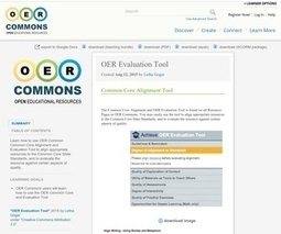 OER Evaluation Tool | All about (M)OOC & OER | Scoop.it