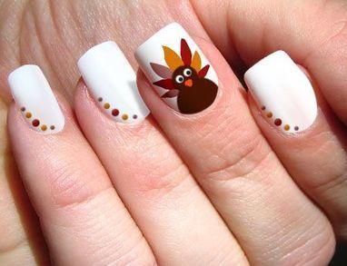 Happy Thanksgiving Nails 2018 Easy Thanksgivi