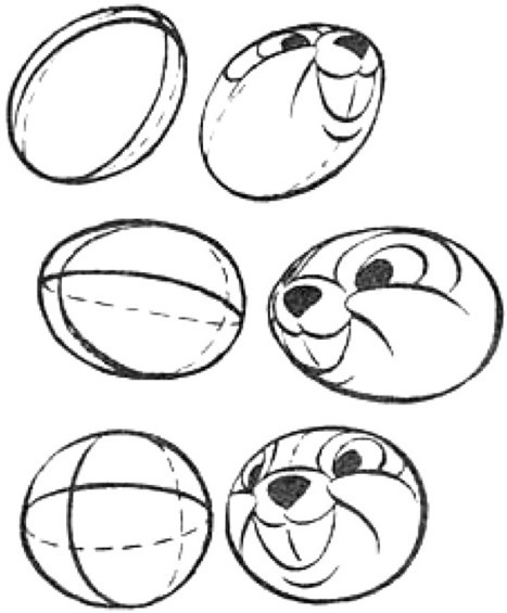Drawing cartoon heads from every angle and position tutorial how to draw step by step drawing tutorials