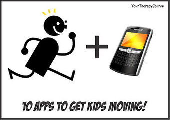 Your Therapy Source - www.YourTherapySource.com: 10 Apps that Get You Moving | Fine Motor and Visual Perception | Scoop.it