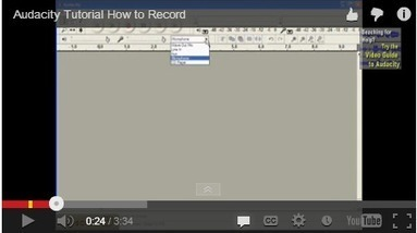 5 Great Video Tutorials on How to Create Podcasts Using Audacity | Time to Learn | Scoop.it