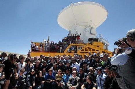 Científicos utilizan antenas para ver el pasado del universo | Universo y Física Cuántica | Scoop.it