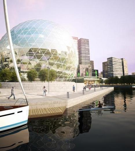 Inspiring New Vertical Farming Designs Bring Cities a Step Forward | Vertical Farm - Food Factory | Scoop.it