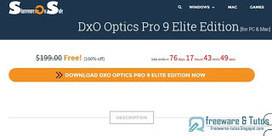 Offre promotionnelle : DxO Optics Pro 9 Elite de nouveau gratuit ! | netnavig | Scoop.it