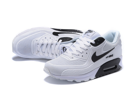 best service cab95 4aa4b Nike Air Max 90 Black White KPU -  62.00   nike and adidas sports shoes  online