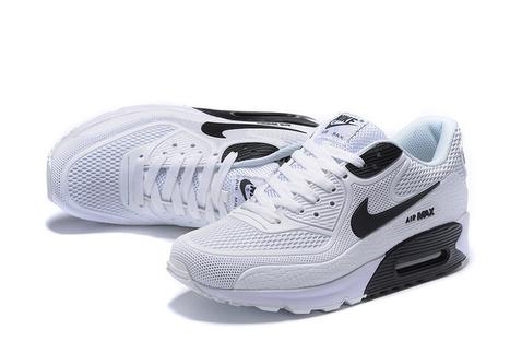 best service dac9a 3b587 Nike Air Max 90 Black White KPU -  62.00   nike and adidas sports shoes  online