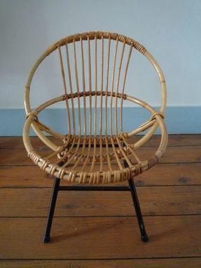 Petit fauteuil en rotin 50's - Urbanité{s} | Fauteuil rotin | Scoop.it
