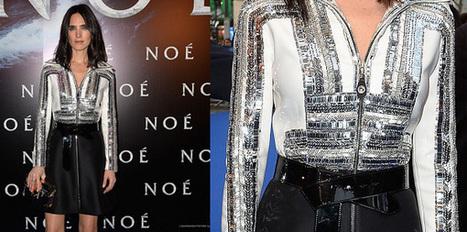 Il bianco e nero di Louis Vuitton per Jennifer Connelly | Moda Donna - sfilate.it | Scoop.it