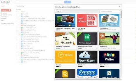 Google Drive habilita la posibilidad de usar aplicaciones de terceros dentro de sí misma | Recull diari | Scoop.it