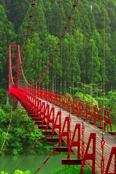 Zaobashi Bridge, Japan.   Beautiful places.   Scoop.it
