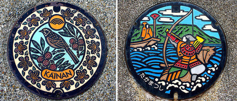 Japan Has The Most Beautiful Manhole Covers In The World | 16s3d: Bestioles, opinions & pétitions | Scoop.it