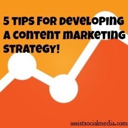Tips For Developing a SEO Content Marketing Strategy | Social Media & SEO Advice | Scoop.it