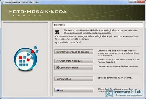 Foto-Mosaik-Edda : un logiciel pour créer facilement des photos-mosaïques sur votre ordinateur | Les outils d'HG Sempai | Scoop.it