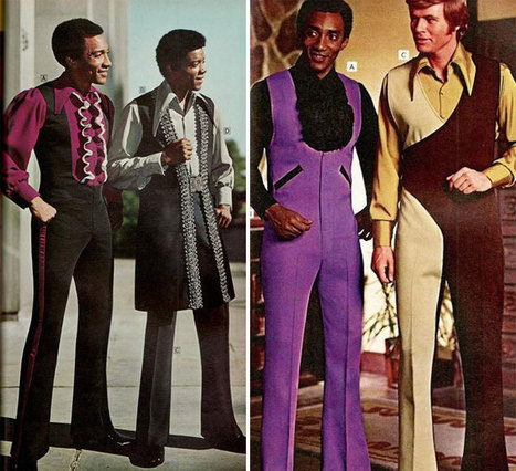 1970s Men's Fashion Ads You Won't Be Able To Unsee | A Cultural History of Advertising | Scoop.it