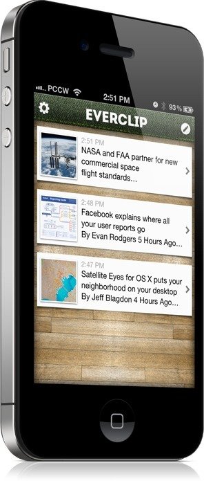 Introducing EverClip for Evernote - goodbye Pocket and Instapaper | Kenyon TechEdDev | Scoop.it
