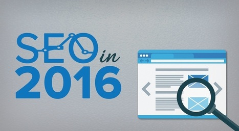 SEO in 2016 | Splash Copywriters | World of #SEO, #SMM, #ContentMarketing, #DigitalMarketing | Scoop.it
