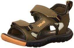 Geox Snake Suede Textile Navy Hook and Loop Sneaker Junior