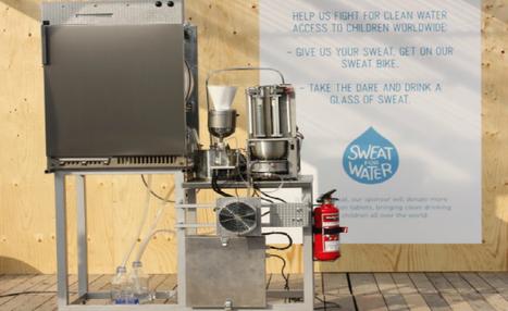 Máquina transforma suor em água potável para ajudar crianças | Science & Technology Topics | Scoop.it